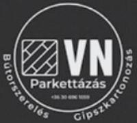 Parkettázás, Bútorszerelés VN Parketta